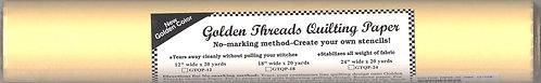 "Golden Threads Quilting Paper 12""- GTQP12"