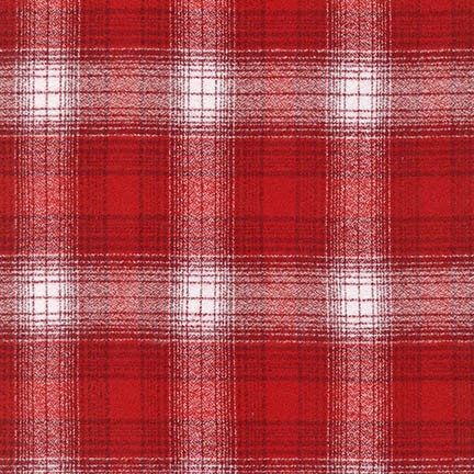 Mammoth Flannel Scarf Kit - 15600-3 Red