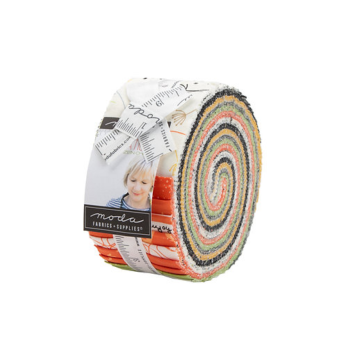 Quotation Jelly Rolls - 40pc by Zen Chic for Moda - JR1730