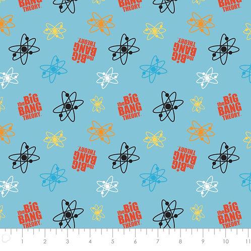 Big Bang Atoms by Camelot Fabrics - Blue