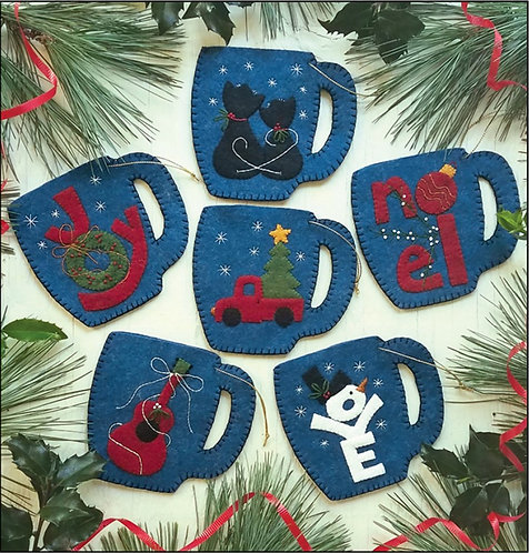 Merry Mugs Ornament Kit by Rachel's of Greenfield