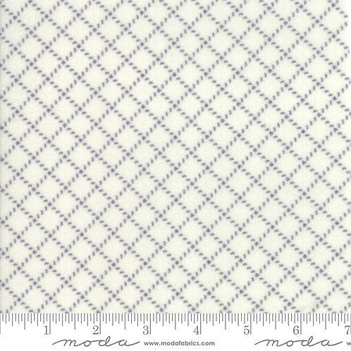 Farmhouse Flannels II by Moda - Cream Graphite 549105F-28