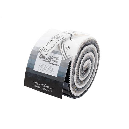 Grunge Jr Jelly Roll - 20 PC Moda - Silver Lining JJR30150SL