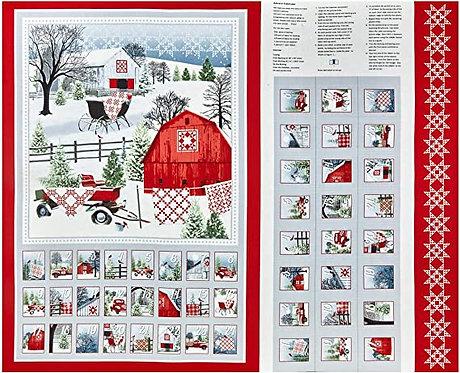 Holiday Heartland Advent Calendar Panel - 92209-89