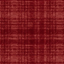 Woolies Flannel - Windowpane - Red