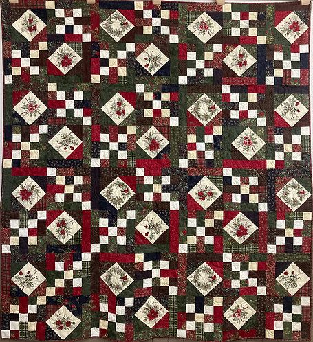 "Woodland Winter Quilt - 80"" x 68"""