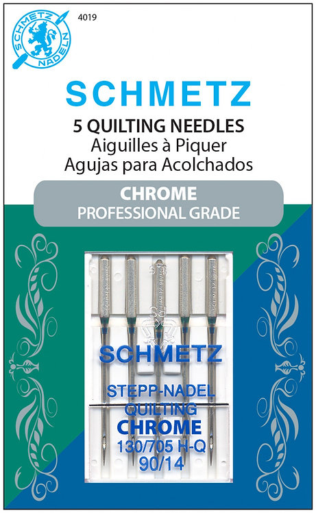 Schmetz Machine Needles Chrome Quilting 90/14 - 5pc