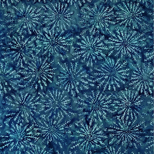 Lucid Lake by Batik by Mirah - Jigsaw Blue LL-7-1443