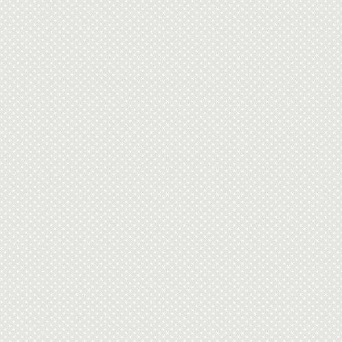 Cloud Whites - Asterisks - Grey