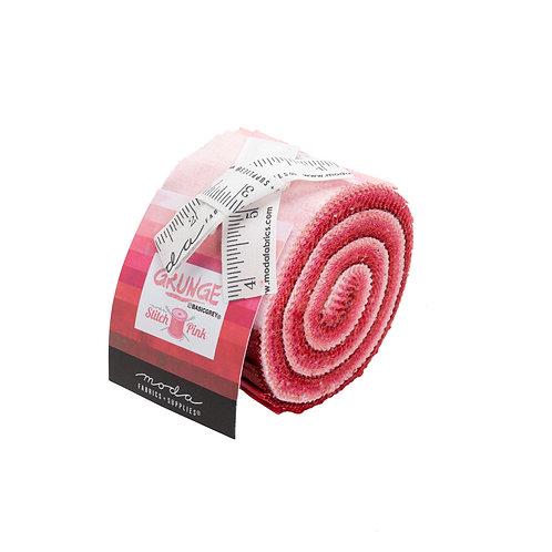 Grunge Jr Jelly Roll - 20 PC Moda - Stitch Pink JJR30150SP