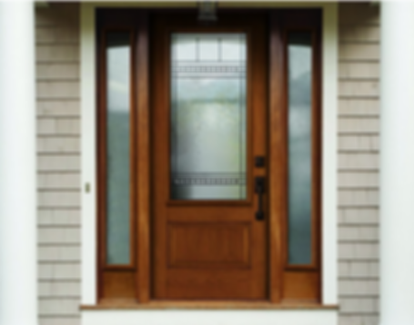 Single Entrance Doors with Sidelights