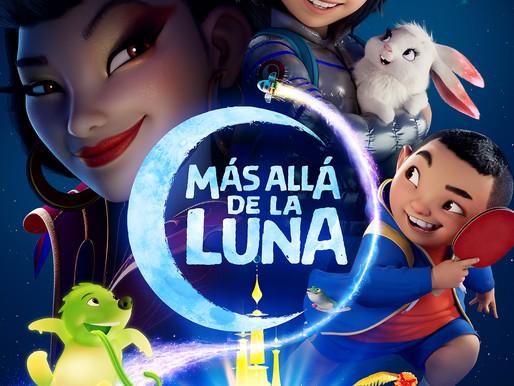 """Lanzamiento del tráiler oficial y arte principal de """"MÁS ALLÁ DE LA LUNA"""""""