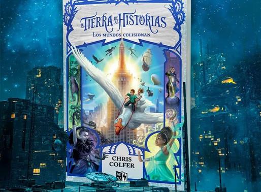 """Novedad VRYA Marzo: """"La tierra de las historias: Los Mu dos colisionan"""" de Chris Colfer"""