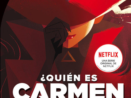 Novedad RBA: ¿Quién es Carmen Sandiego? de la serie original de Netflix