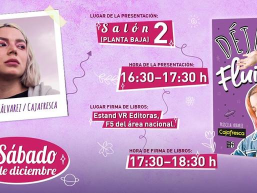 Presentación y firma de Caja Fresca en la FIL Guadalajara