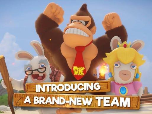Mario +  Rabbids Kingdome Battle Donkey Kong Adventure
