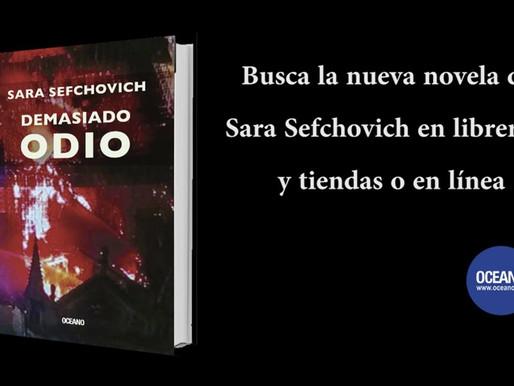 Demasiado odio la nueva novela de Sara Sefchovich