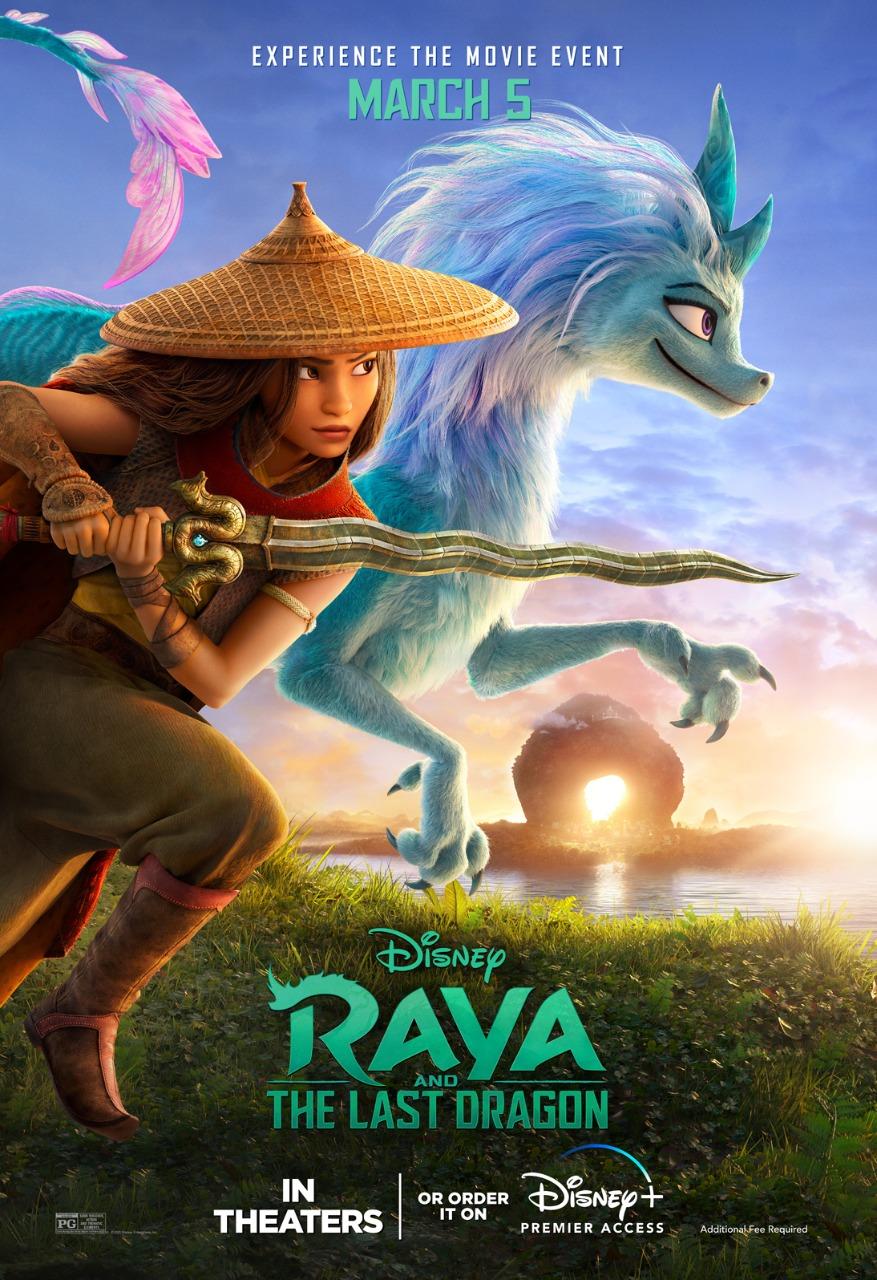 RAYA Y EL ÚLTIMO DRAGÓN poster ENG