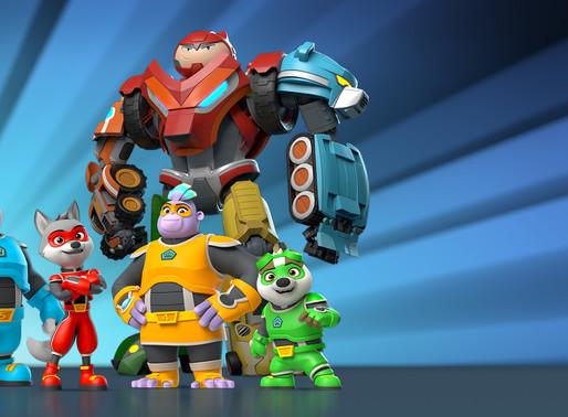 Conoce al equipo de Kingdom Force: El escuadrón del reino que llega a Nat Geo Kids