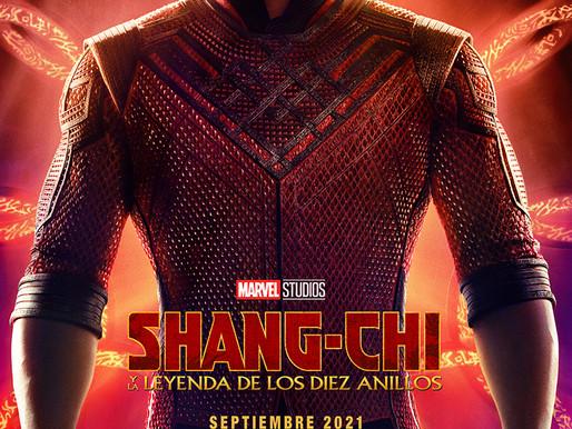 Primer Tráiler y Póster de SHANG-CHI Y LA LEYENDA DE LOS DIEZ ANILLOS de Marvel Studios
