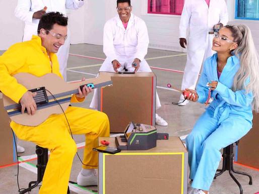 Ariana Grande + Nintendo Labo = Éxito musical DIY