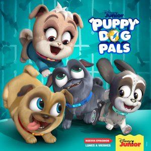 Bingo y Rolly dan la bienvenida a Lollie, su nueva compañera de aventuras en Puppy Dog Pals