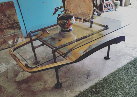 1952 Chevy Truck Door Coffee Table