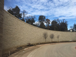 C109: Exterior Feature Wall
