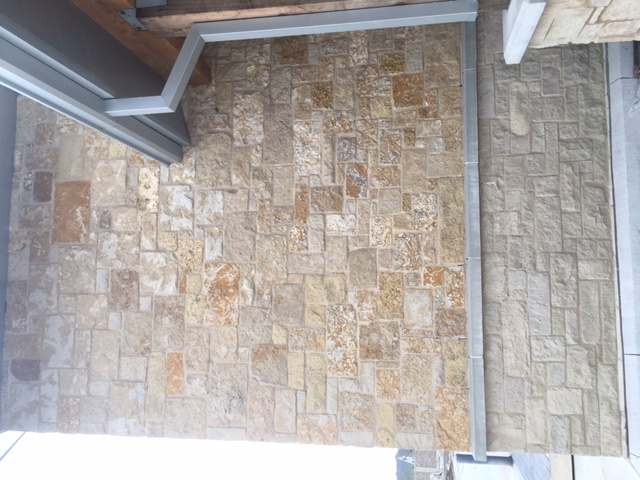 TV109: Exterior Feature Wall