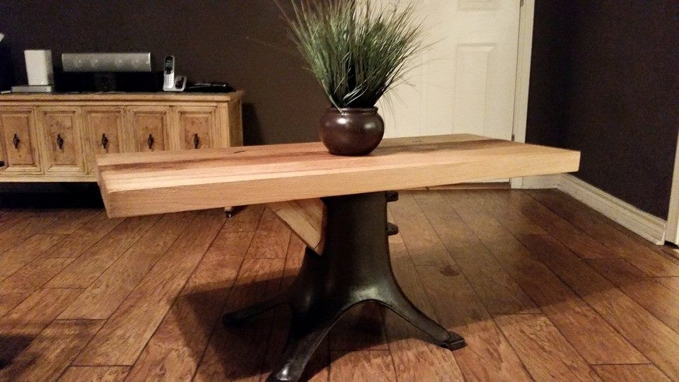 Reclaimed Oak Barn Beam table