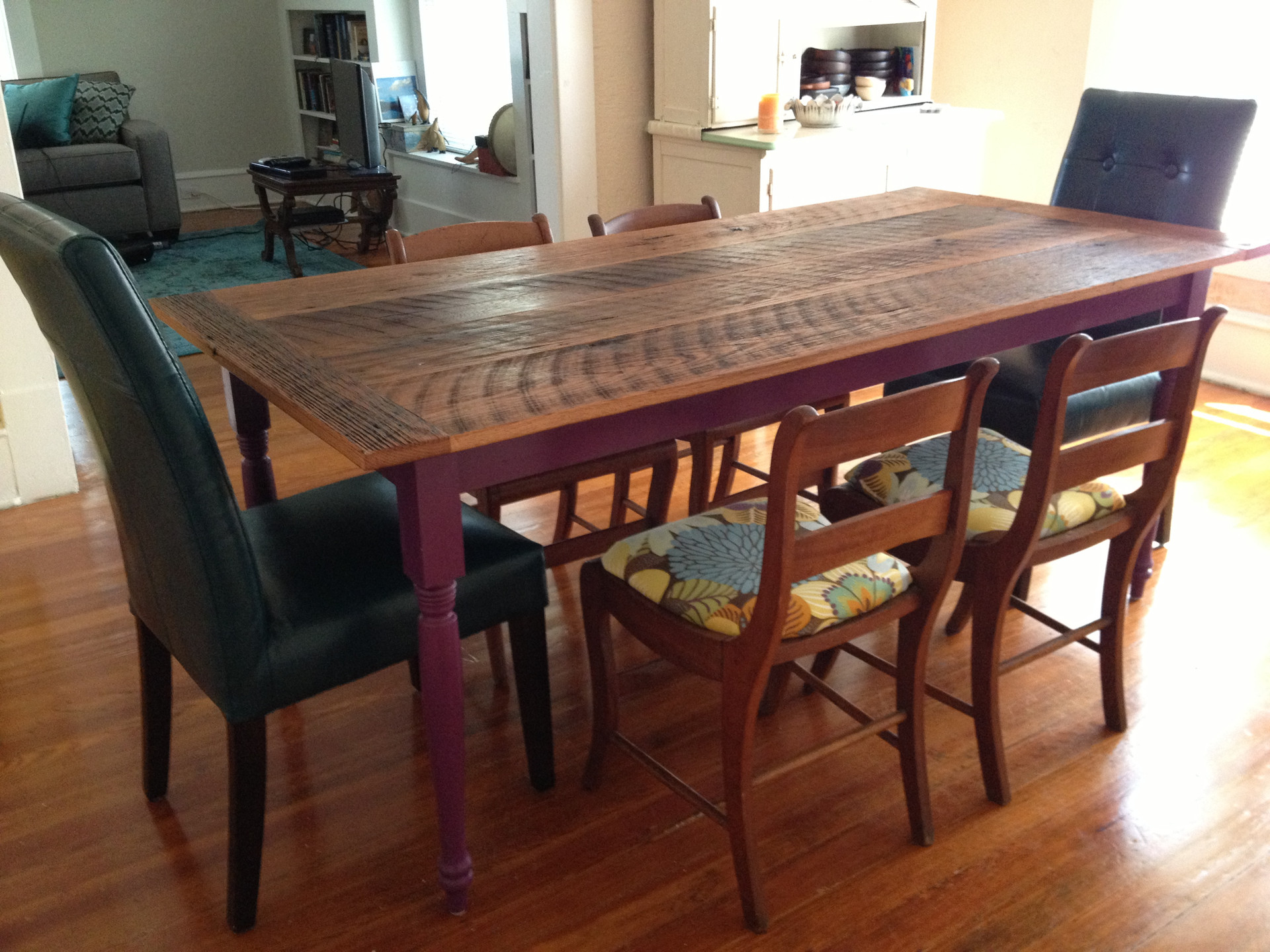 Reclaimed Barnwood Dining Table