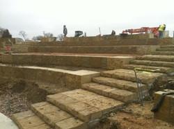 Amphitheatre under construction