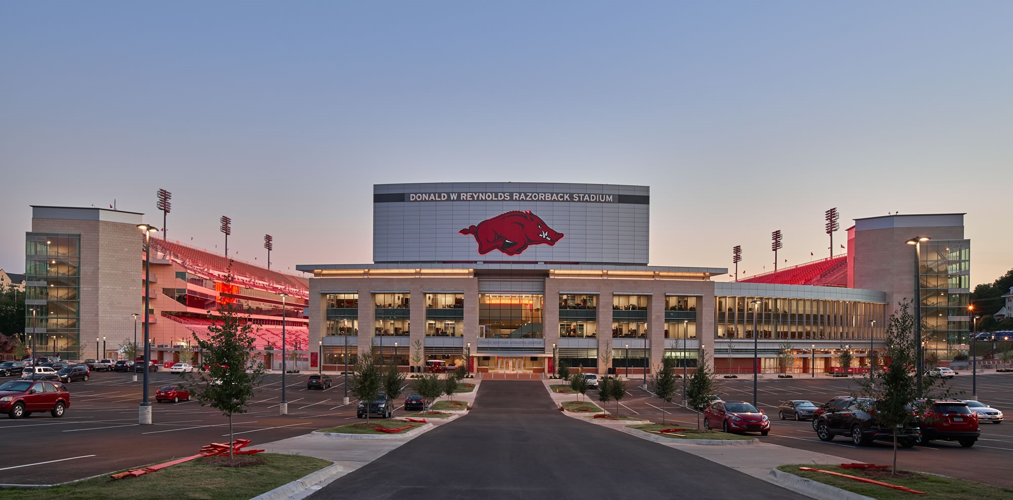 I110: University of Arkansas Stadium