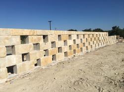 Hog Creek Block Shadow Wall
