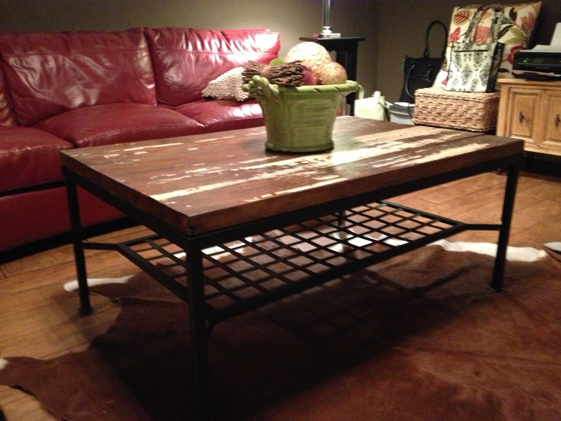 Reclaimed Boy Scout Cabin pine table