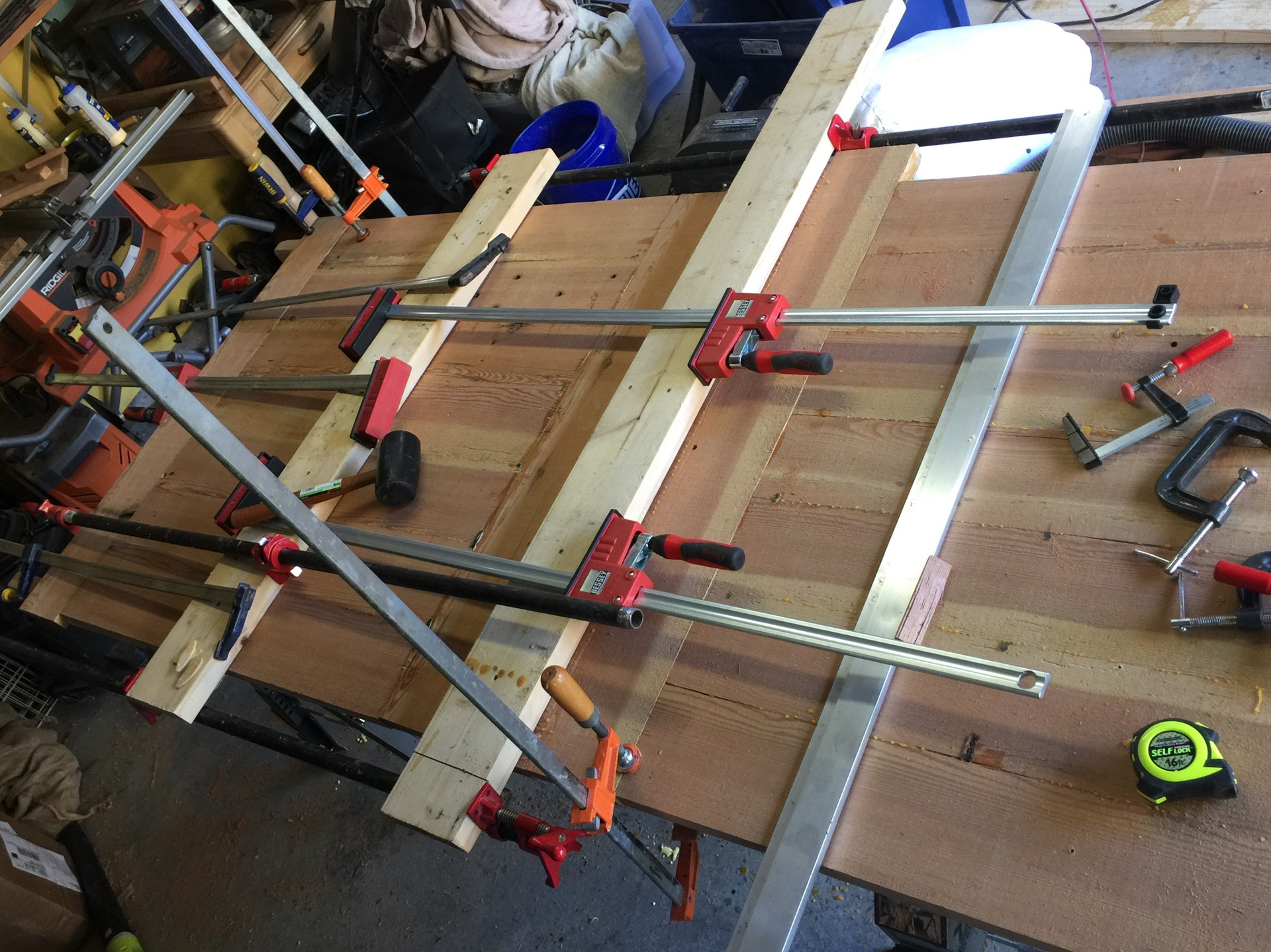 Clamping a tabel