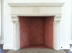 FB117: Fireplace Surround and Mantel