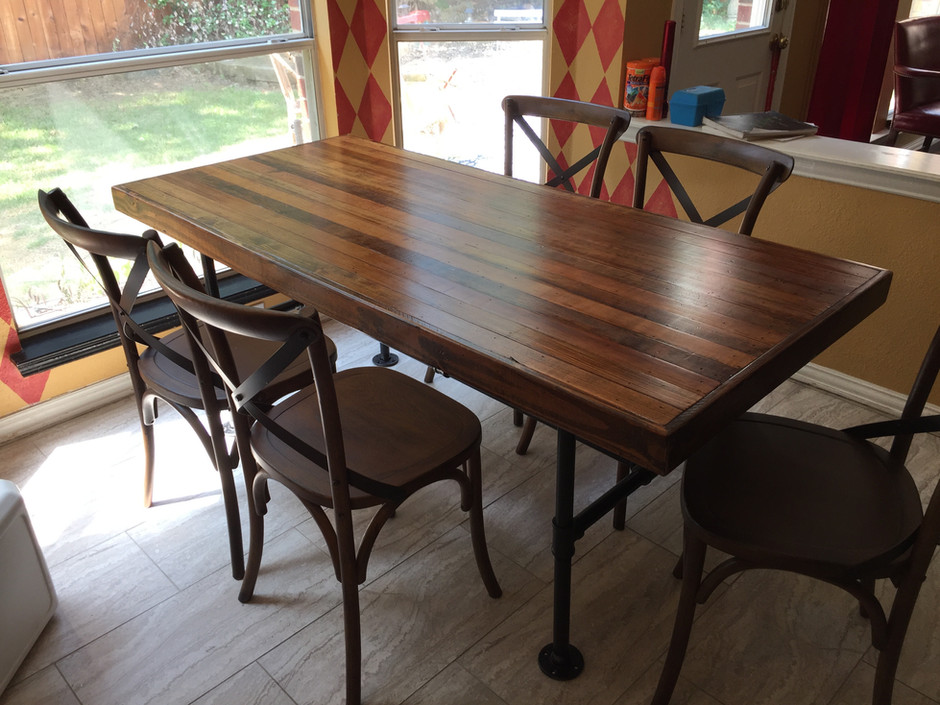 Reclaimed LongLeaf Pine Industial Table.jpg