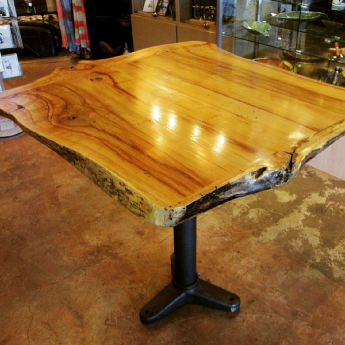 Live Edge Spalted Maple Dining Table