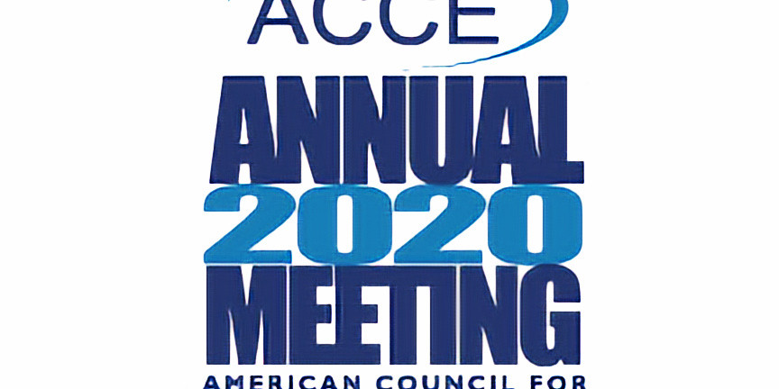 START HERE! 2020 ACCE Annual Meeting REGISTRATION