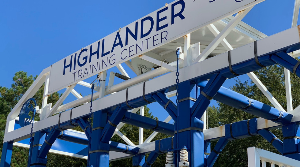 Gate Training at Highlander
