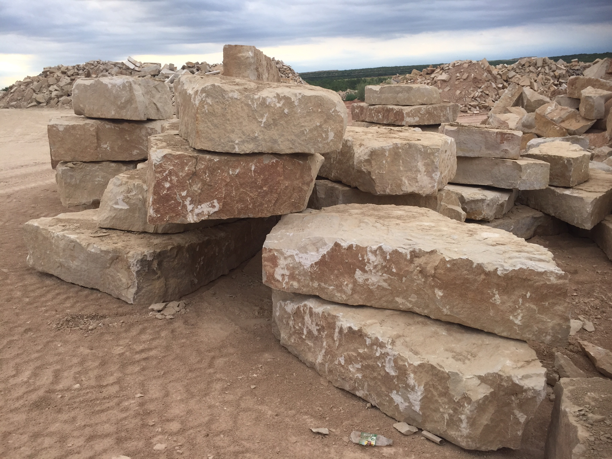 BOU102: Hog Creek Quarry Blocks