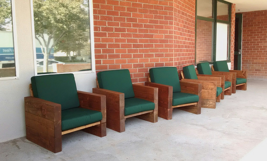 Frat Boy Chairs now at USC