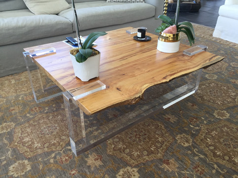 Reclaimed Spalted Maple Coffee Table