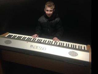 Student Spotlight: Joseph C. on Piano