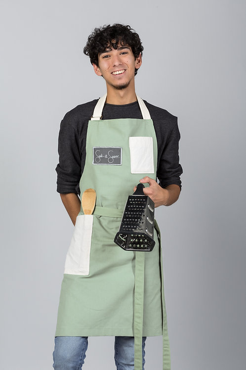 Green Tea Adult Apron