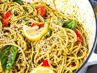 Tomato Confit & Pesto Pasta