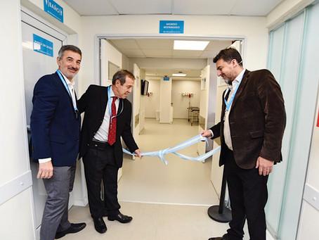 Inauguramos los pisos para Quirófanos Ambulatorios de Alta Complejidad y Servicio de Video Endoscopi
