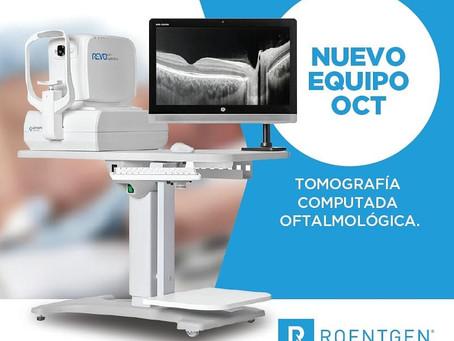 Nuevo Equipo: Tomografía de Coherencia Óptica