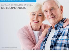 20% de descuento en Densintometría Ósea